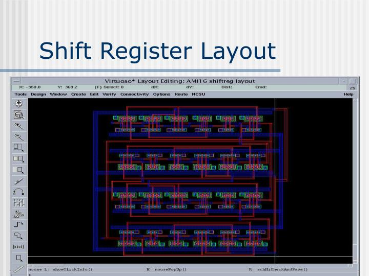 Shift Register Layout