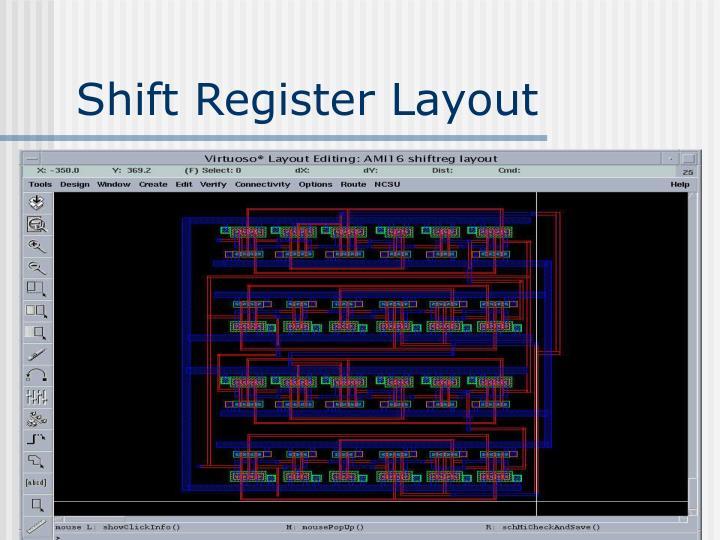 Shift Register Layout