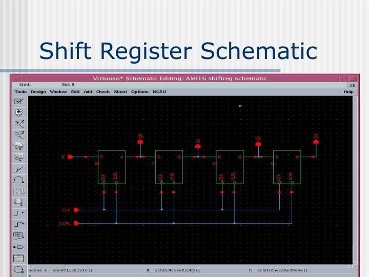 Shift Register Schematic