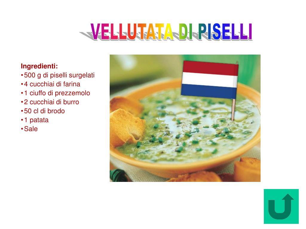 Vellutata diPiselli (Olanda)