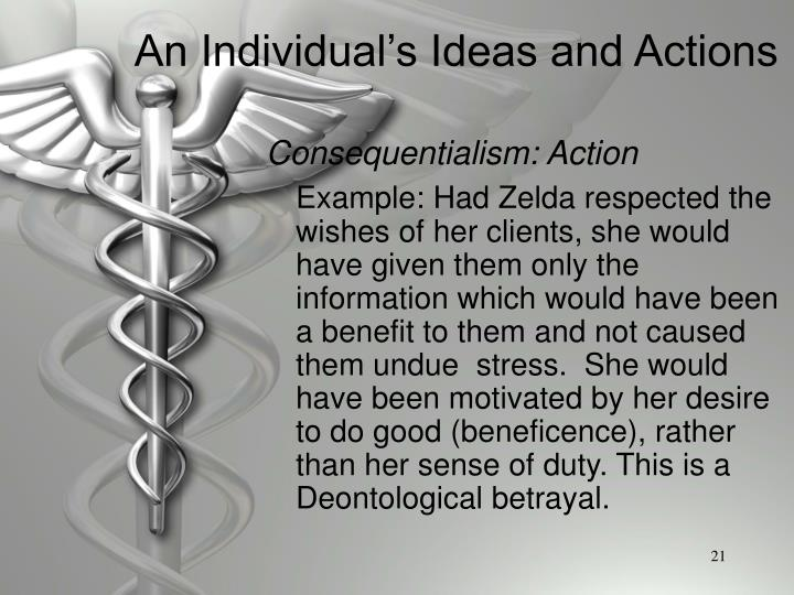 Consequentialism: Action