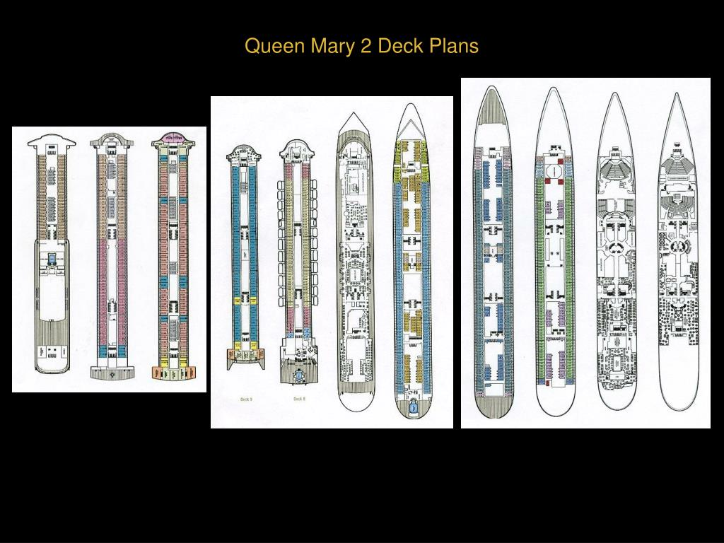 Queen Mary 2 Deck Plans