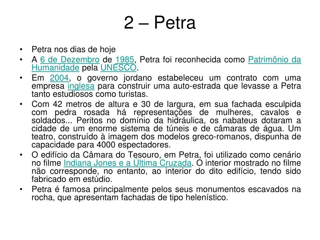 2 – Petra