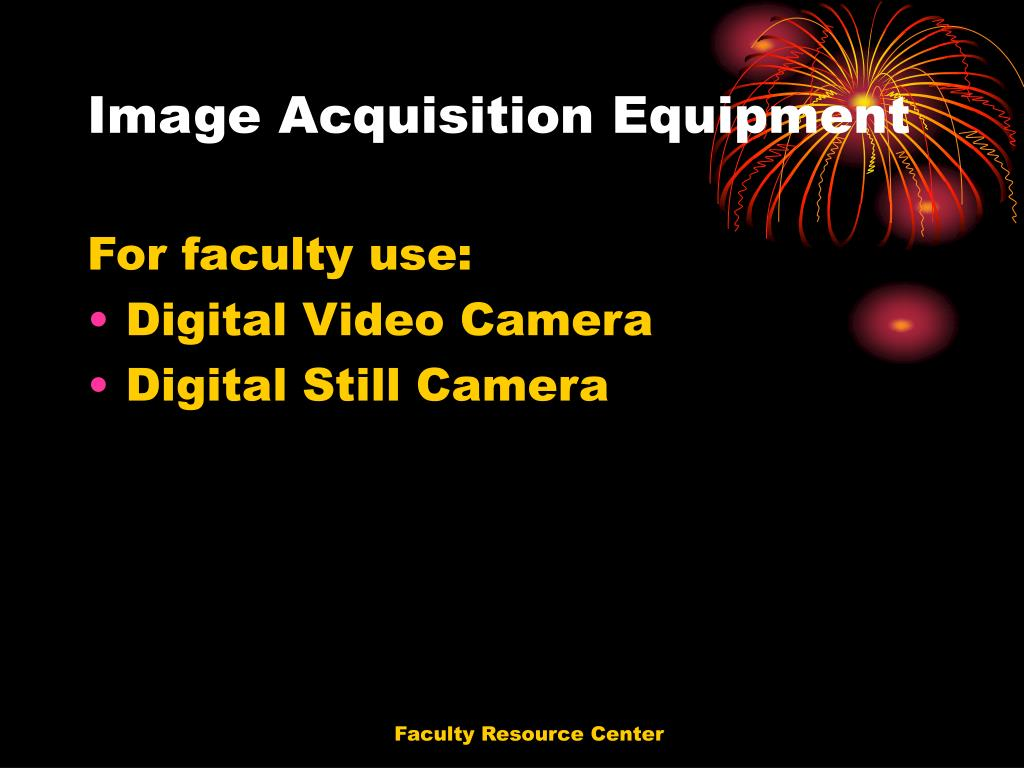 Image Acquisition Equipment