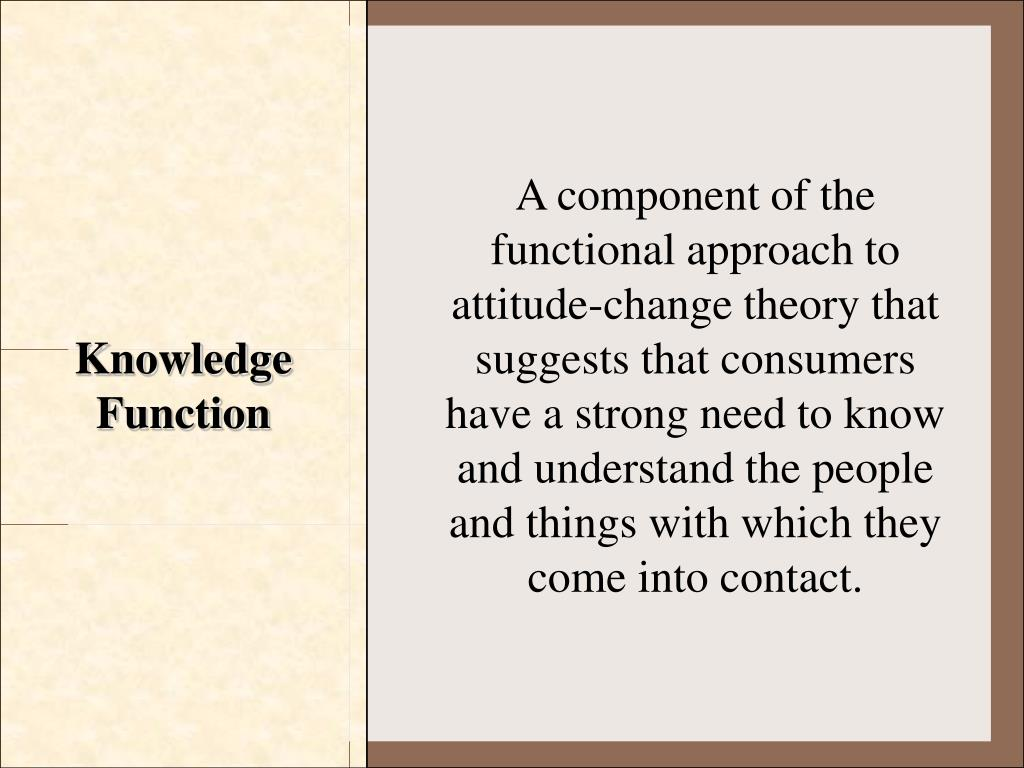 Knowledge Function