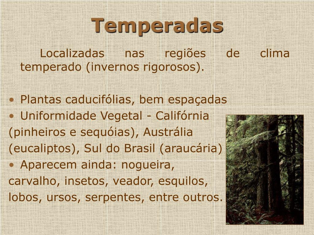 Temperadas
