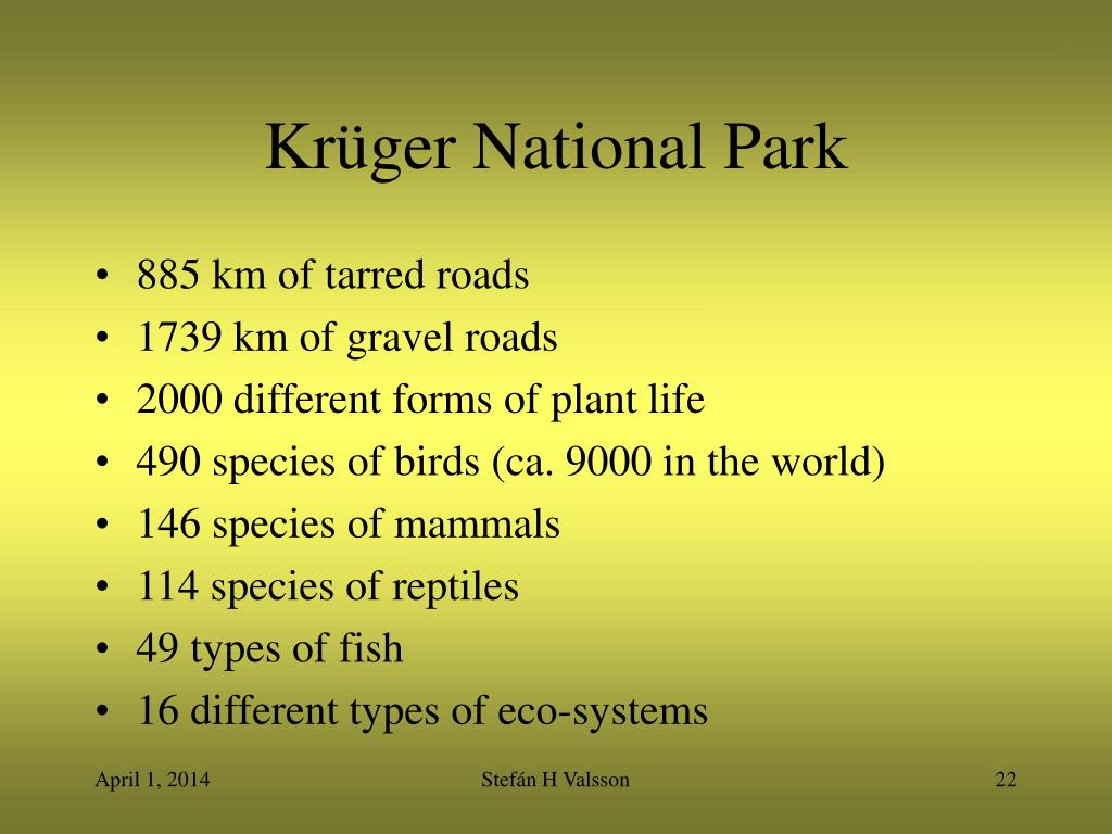 Krüger National Park