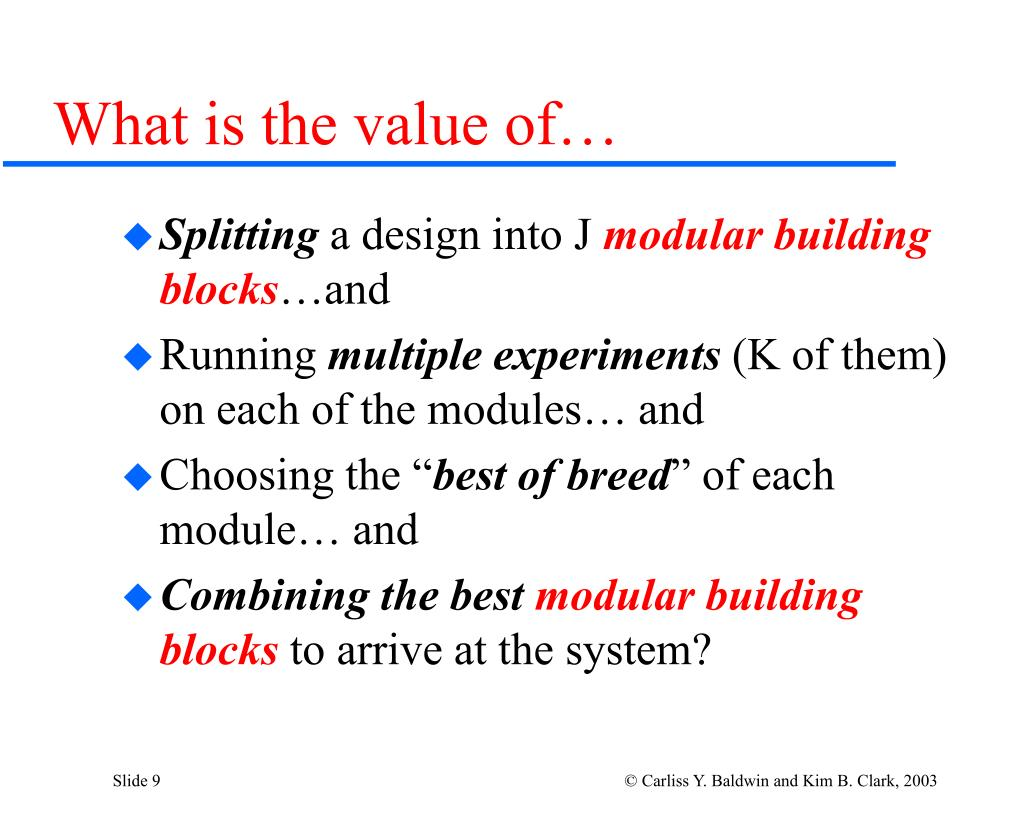 What is the value of…