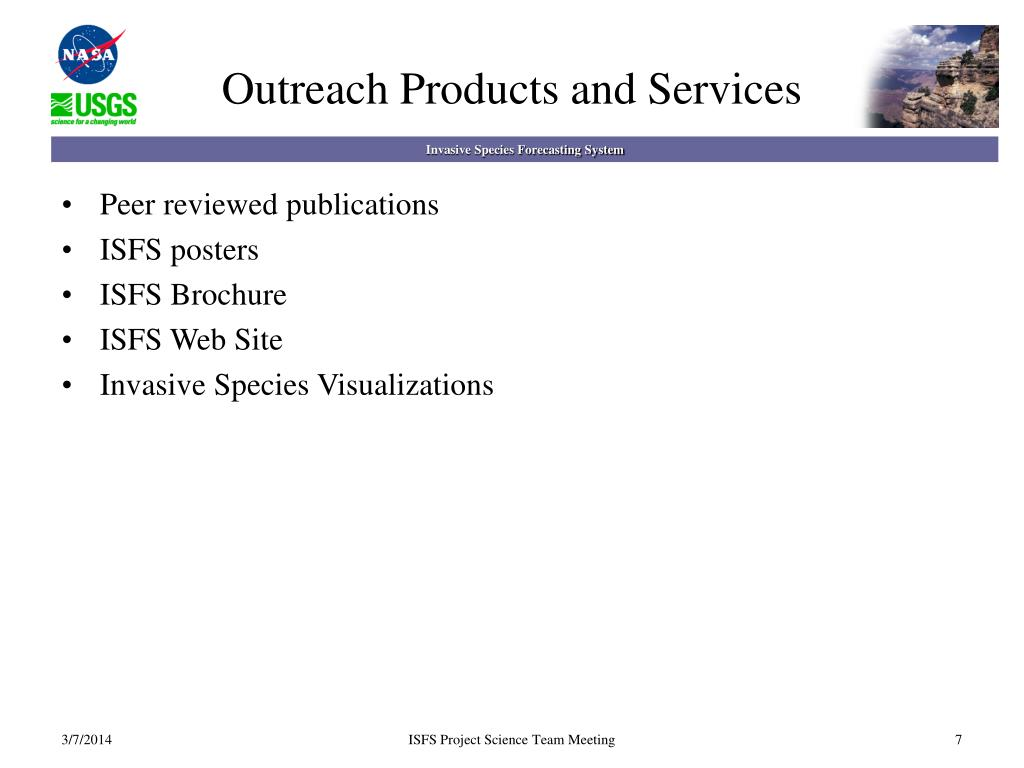 Outreach Products and Services