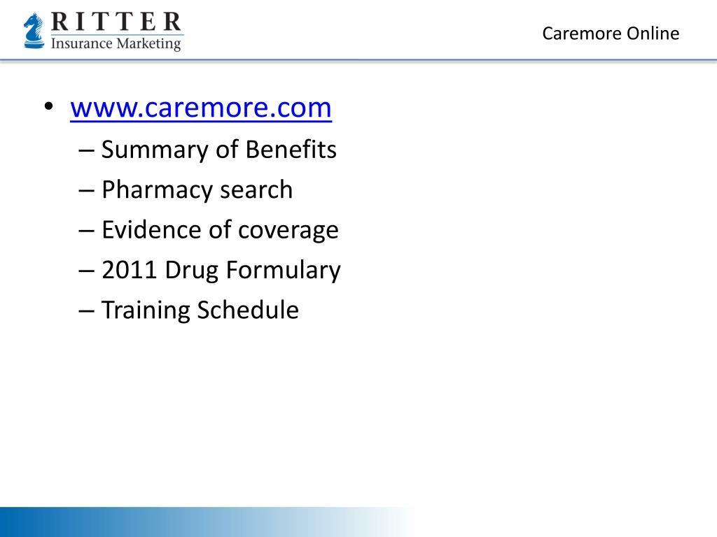 Caremore Online