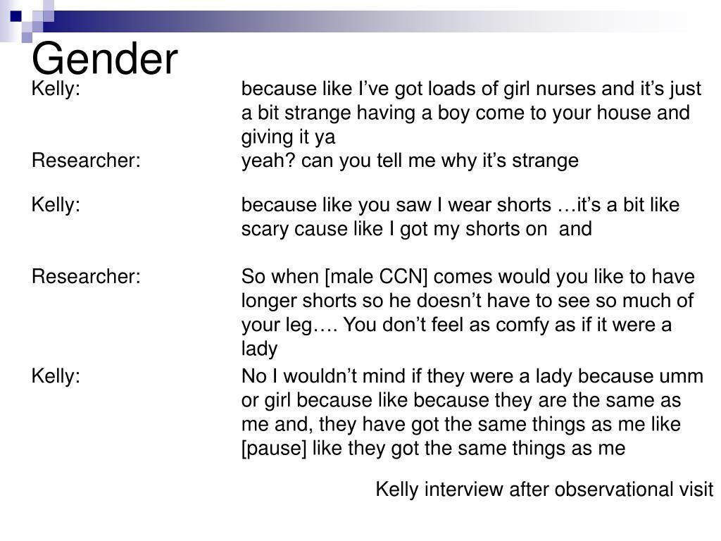 Kelly: