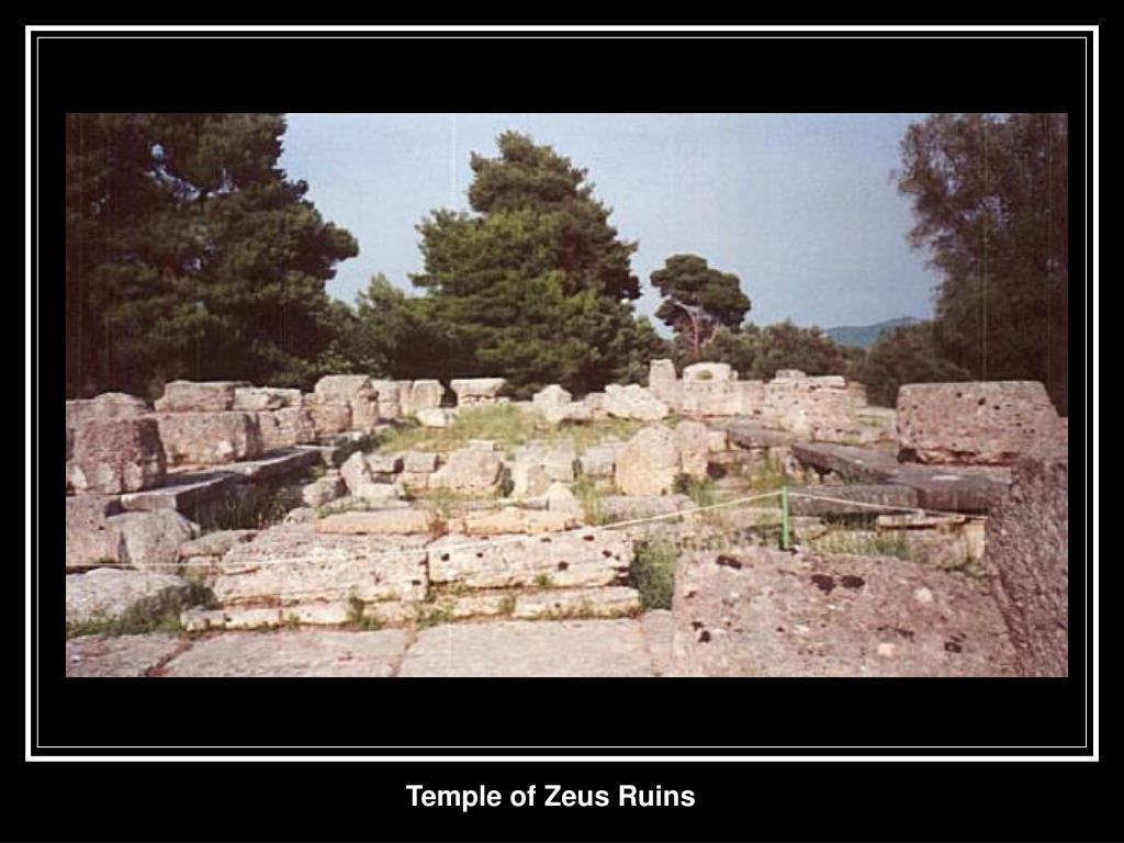 Temple of Zeus Ruins