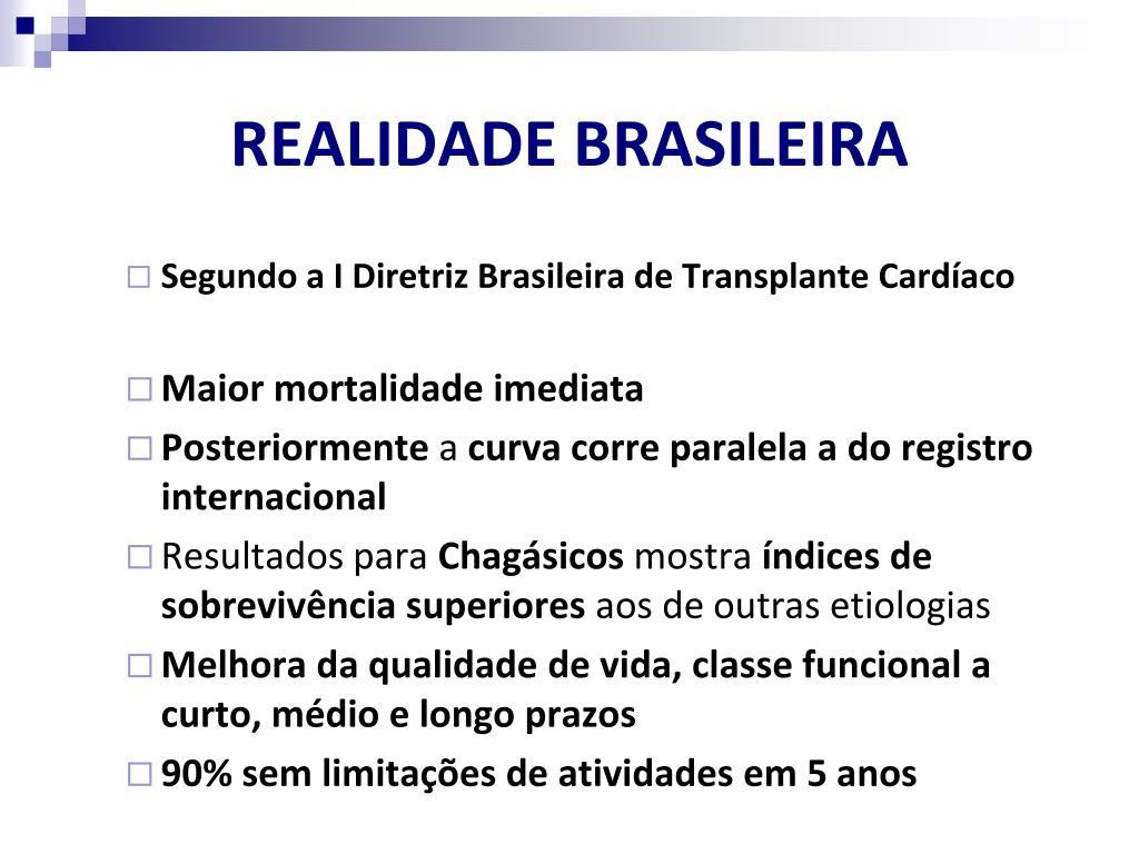 REALIDADE BRASILEIRA