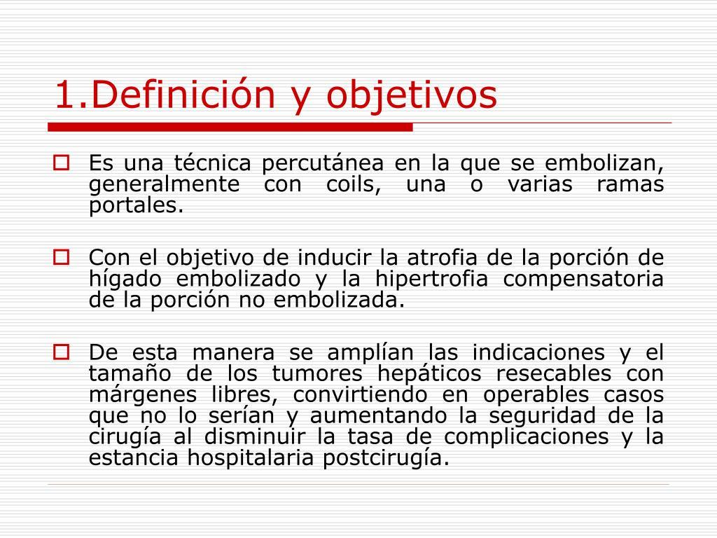1.Definición y objetivos