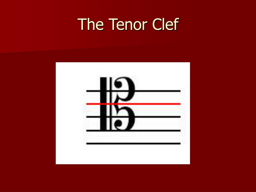 The Tenor Clef