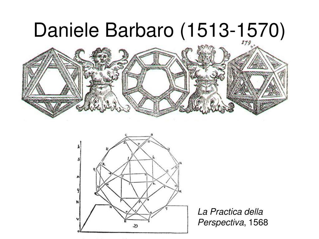 Daniele Barbaro (1513-1570)