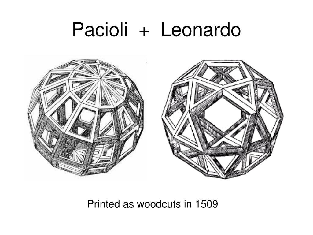 Pacioli  +  Leonardo