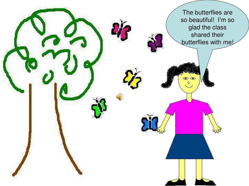 The butterflies are so beautiful!  I'm so glad the class shared their butterflies with me!