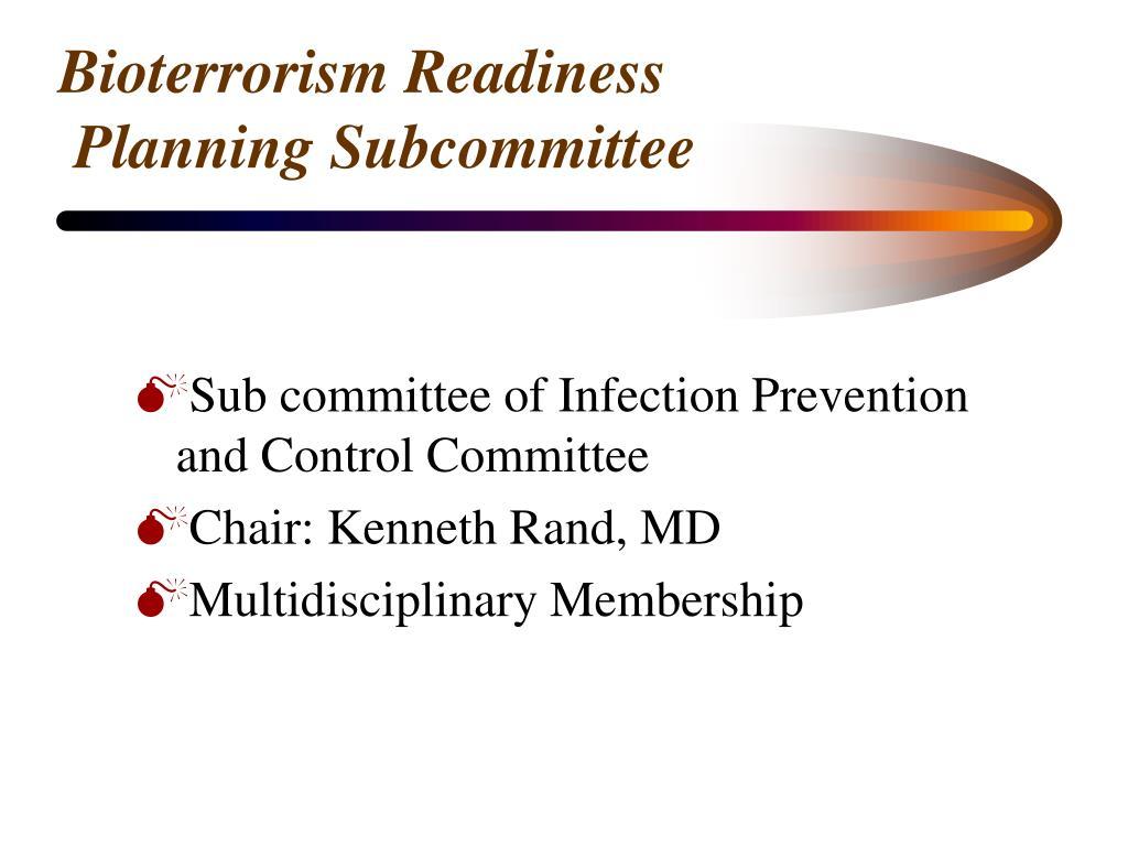 Bioterrorism Readiness