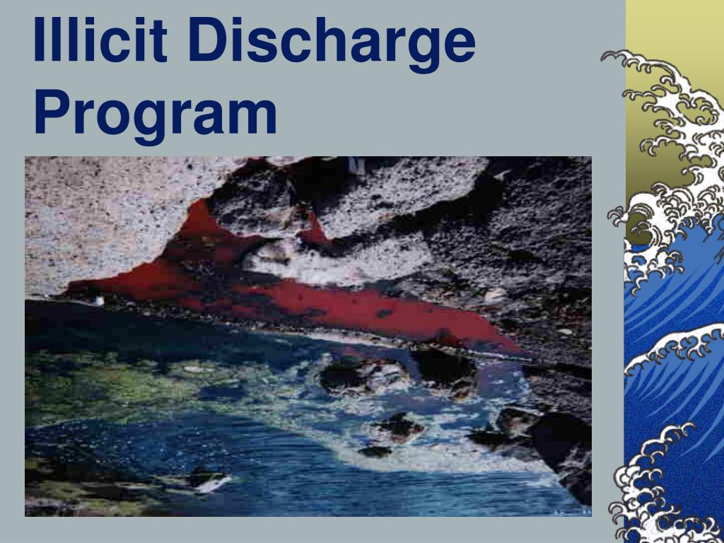 Illicit Discharge Program