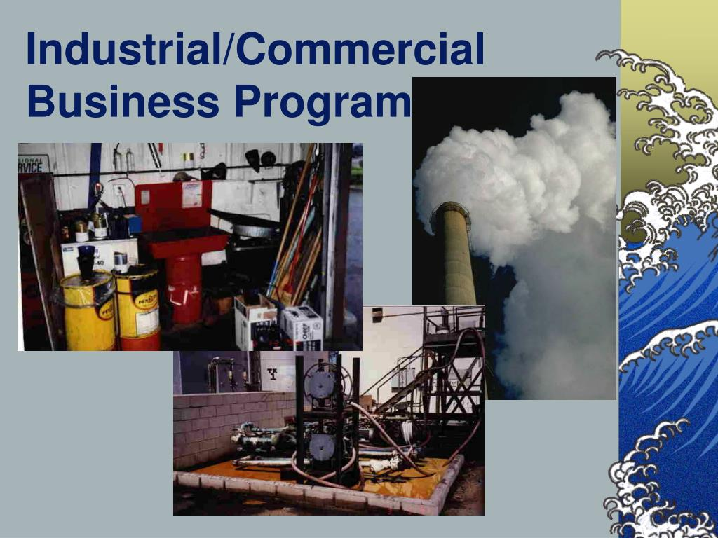 Industrial/Commercial Business Program