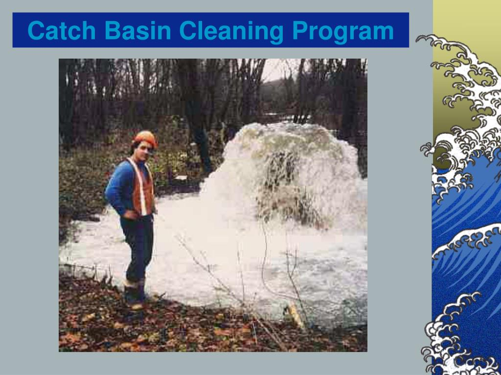 Catch Basin Cleaning Program