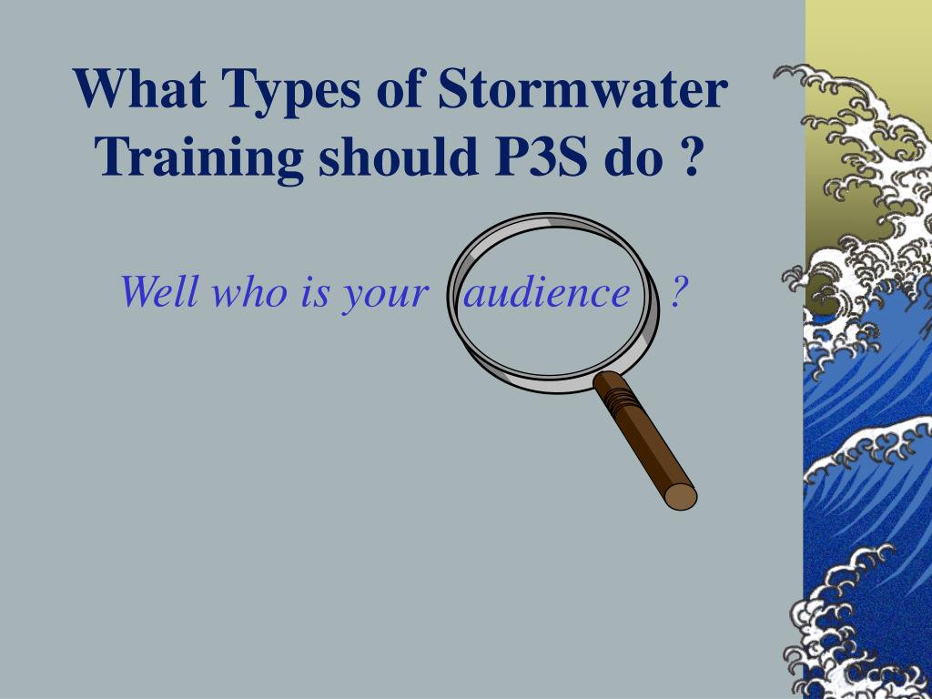 What Types of Stormwater