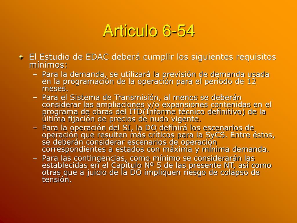 Articulo 6-54