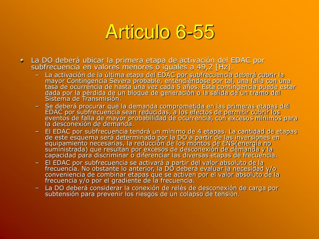 Articulo 6-55