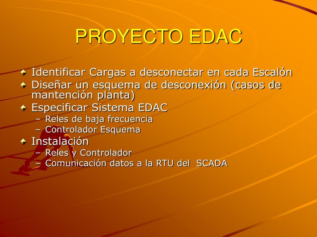 PROYECTO EDAC