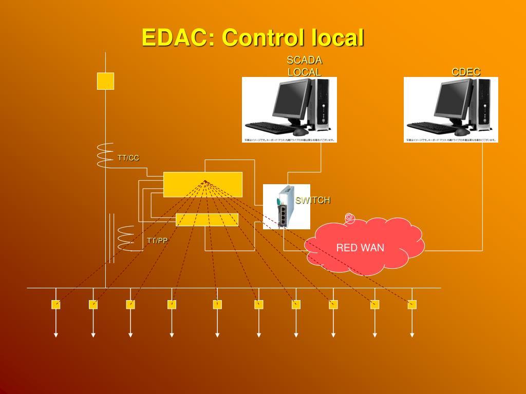 EDAC: Control local