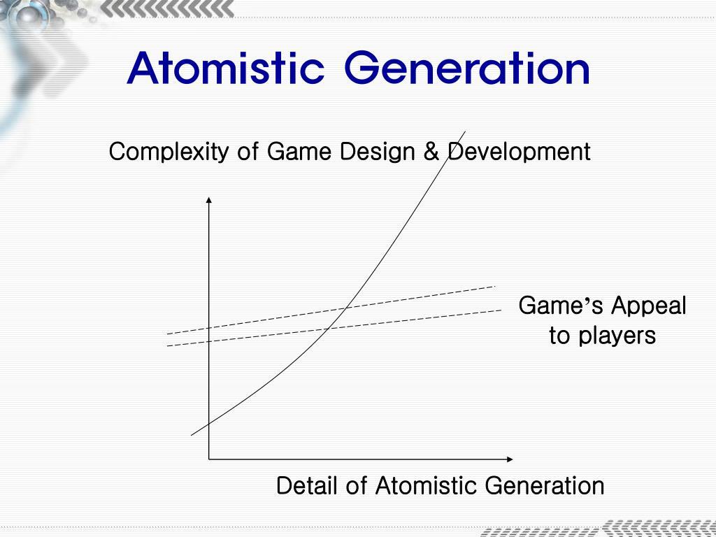 Atomistic Generation