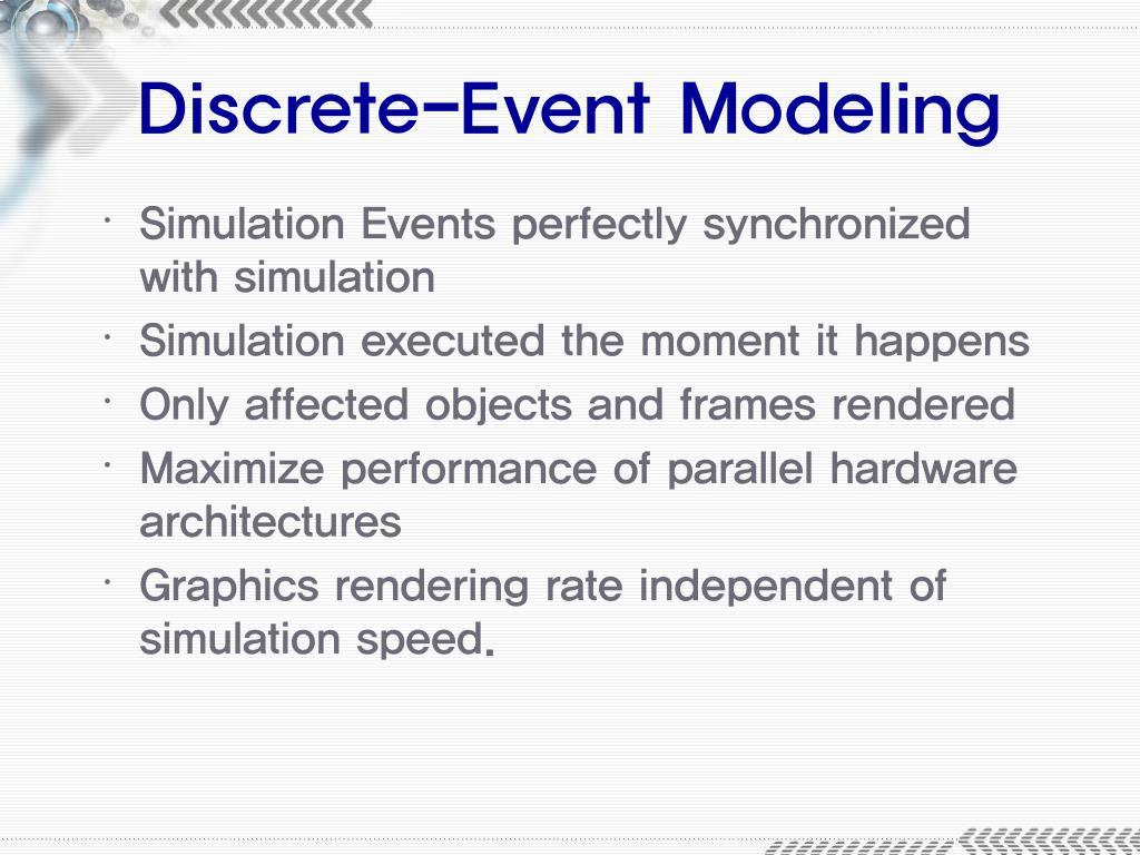 Discrete-Event Modeling