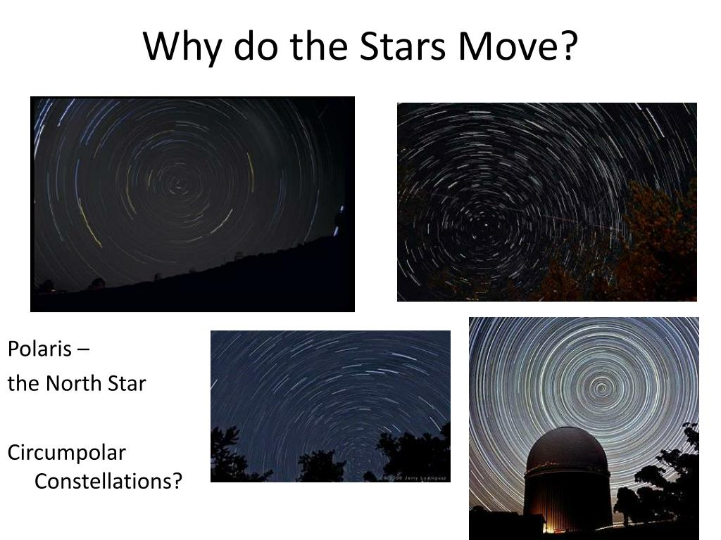 Why do the Stars Move?