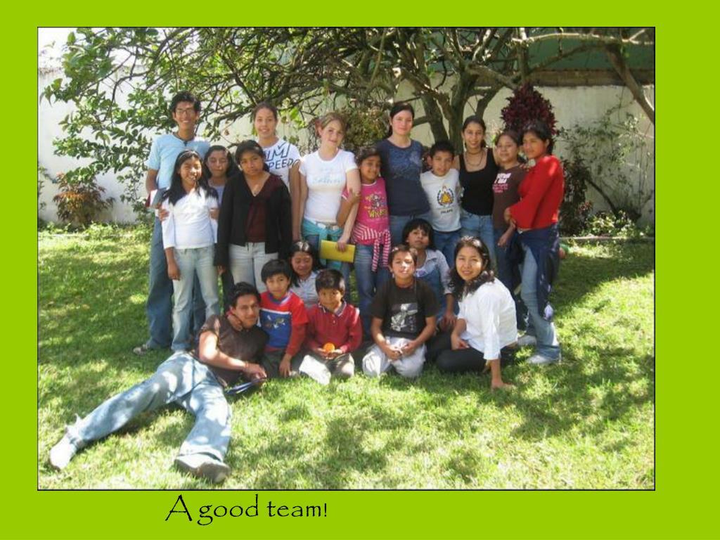!A good team!