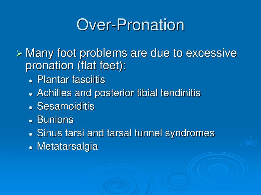 Over-Pronation