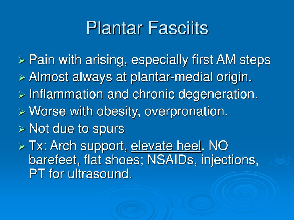 Plantar Fasciits