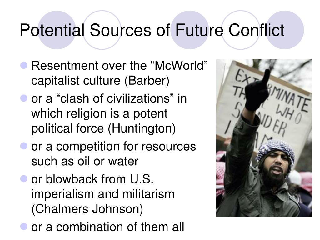 Potential Sources of Future Conflict