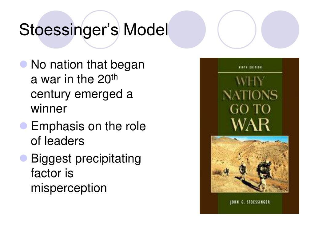 Stoessinger's Model
