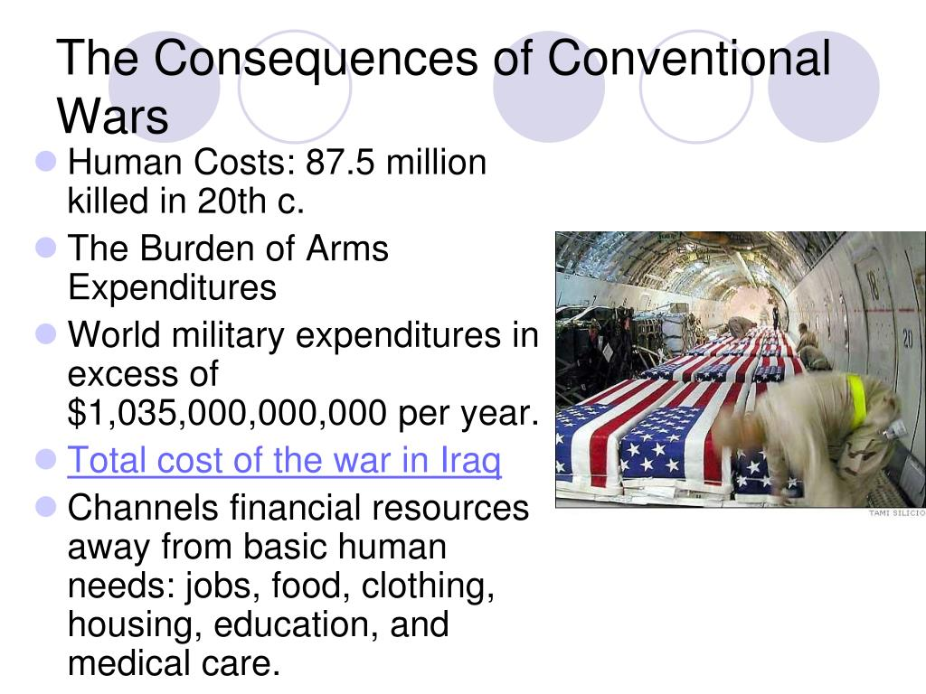 The Consequences of Conventional Wars