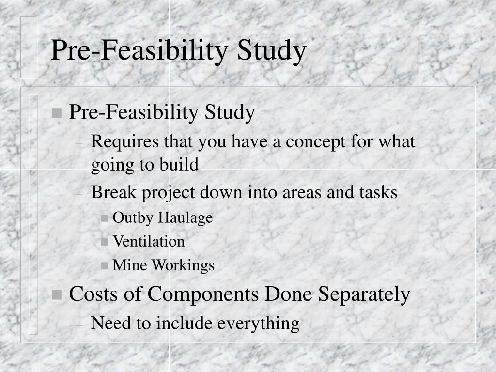 feasibility study 8 essay Feasibility study - essay example from this study we learn that a feasibility study provides a historical background of the project or business.