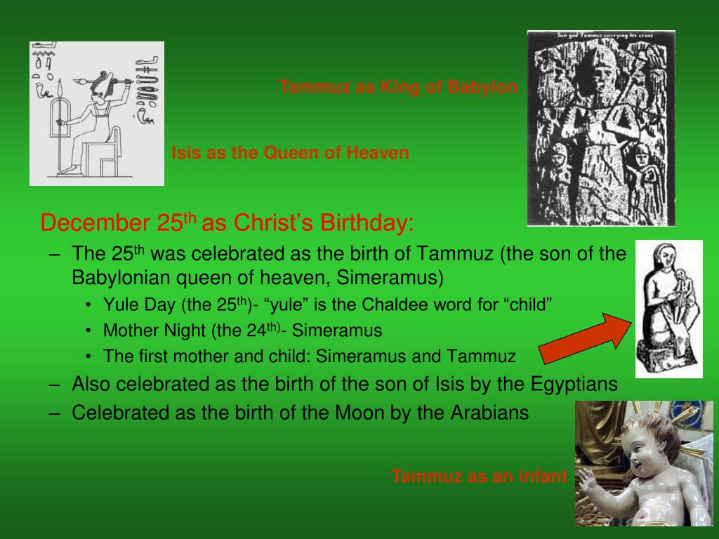 Tammuz as King of Babylon