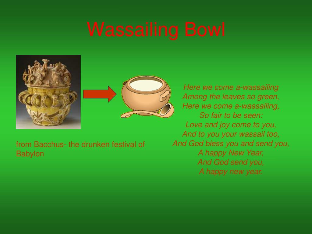 Wassailing Bowl
