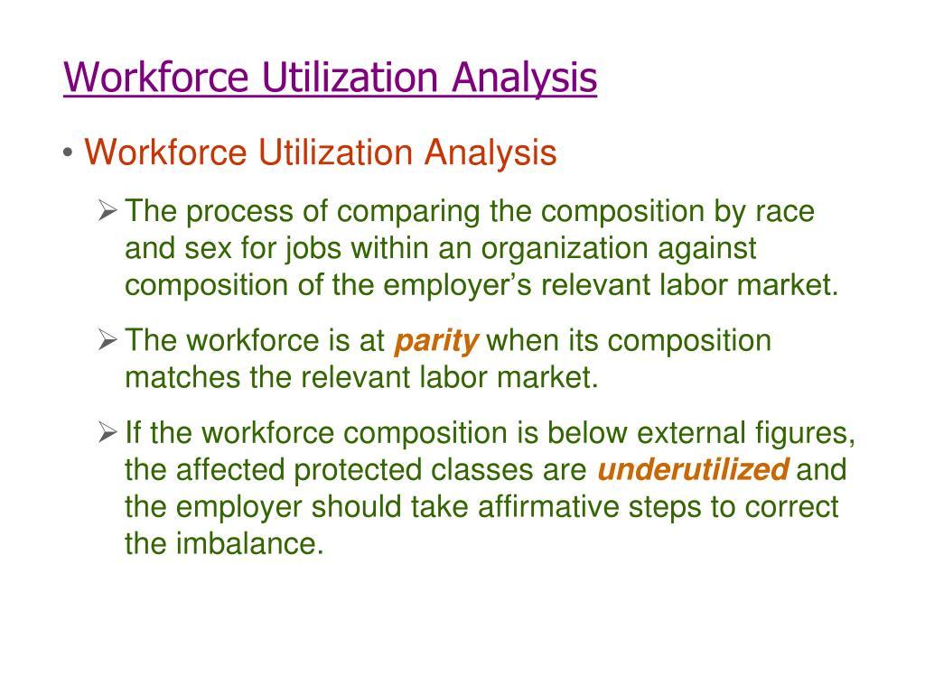 Workforce Utilization Analysis