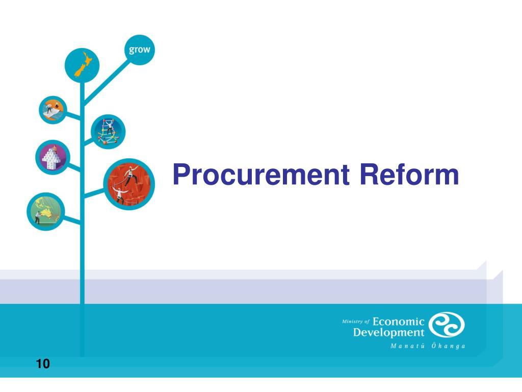Procurement Reform