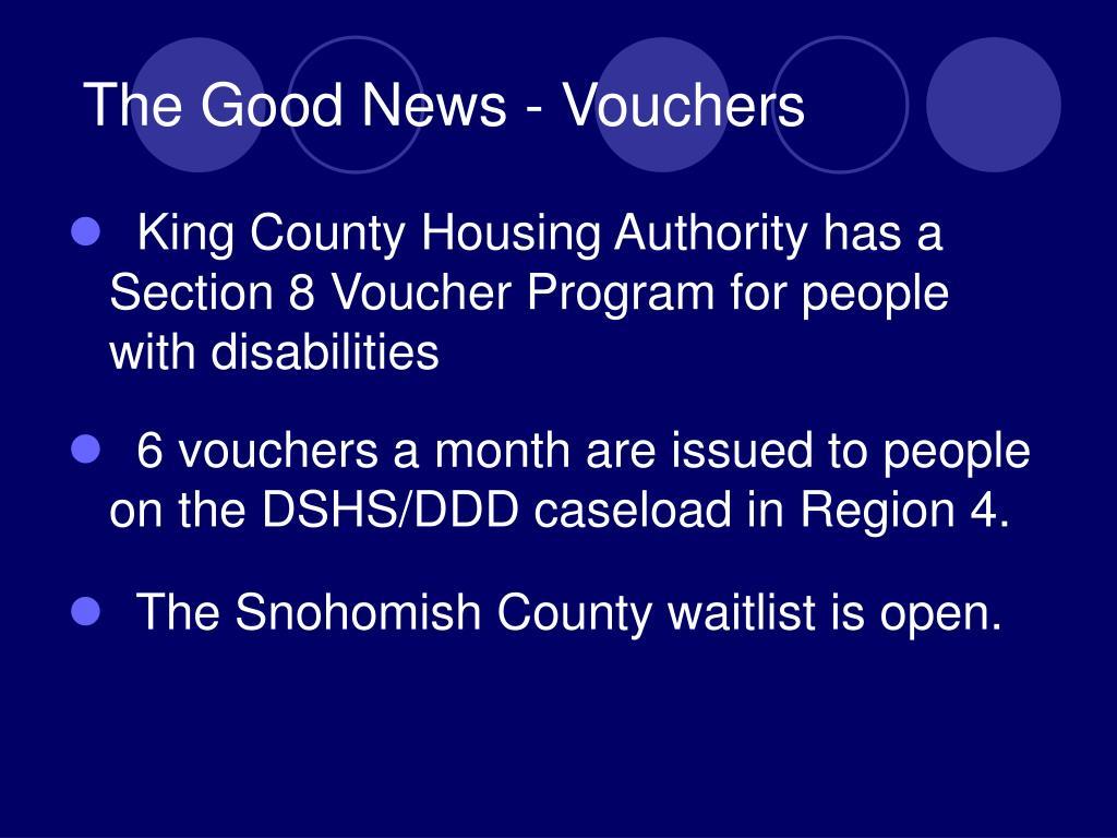 The Good News - Vouchers