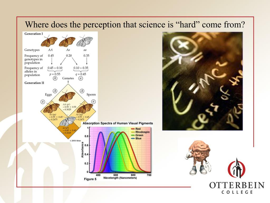 """Where does the perception that science is """"hard"""" come from?"""