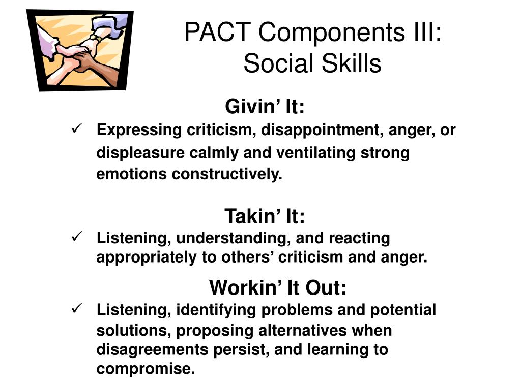 PACT Components III: Social Skills