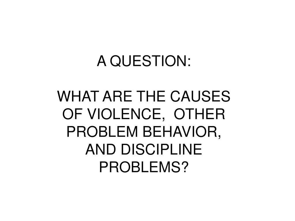 A QUESTION: