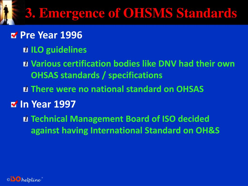 OHSAS 18001 Occupational Health and Safety Management